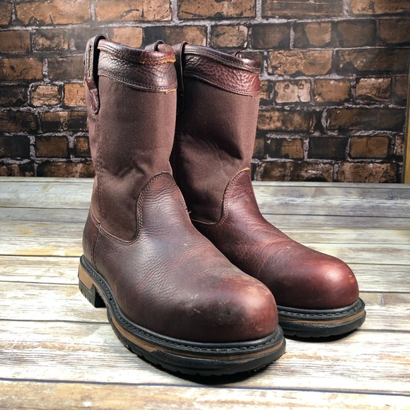 2cbd528933b Rocky Ironclad Wellington steel toe boots